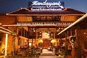 Restoran terbaik di kota Yogyakarta